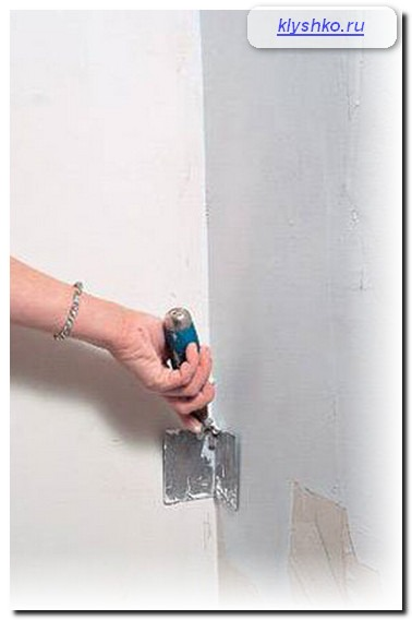 шпаклевание стен