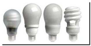 энергосберегающие  люминесцентные лапы