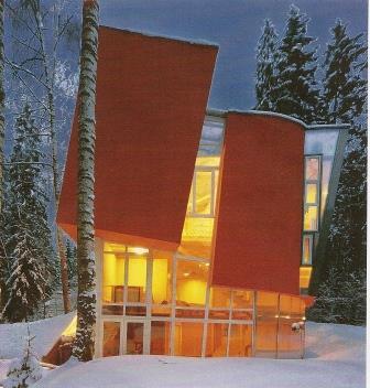 дом с энергосберегающими окнами