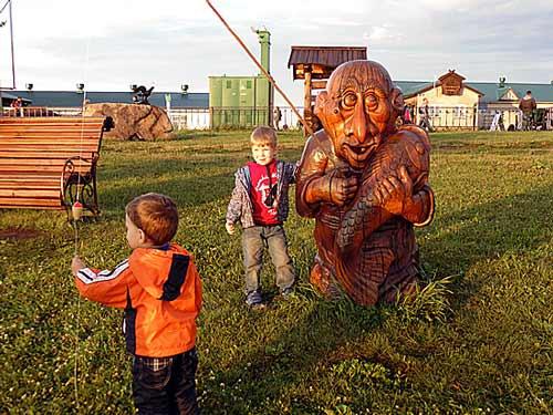 Туристический комплекс :Новотырышкино -Сибирское подворье