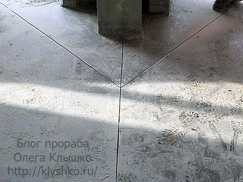 швы в бетонных полах