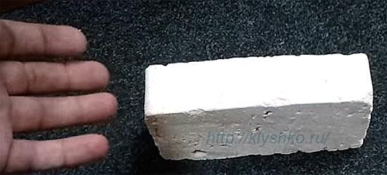 пенодиатомитовый кирпич