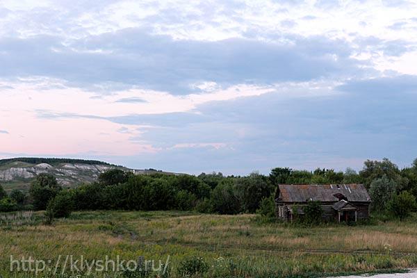 Окраина села Подвалье