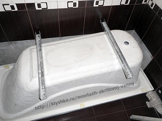 монтаж-акриловой-ванны