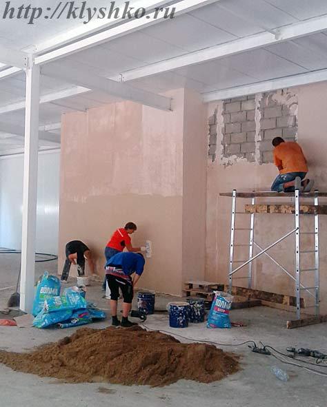 штукатурка-стен-из-газобетона-внутри-помещения