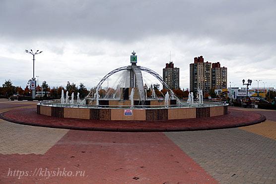 Губкин-фонтан